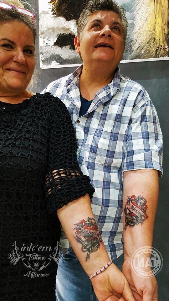 tatuaggi di coppia roma