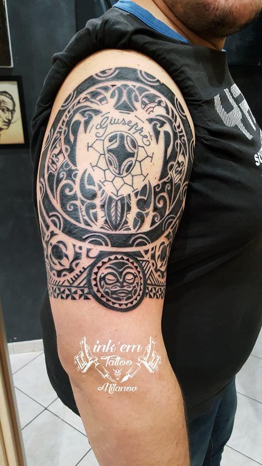 Super Tribal Tattoo Designs – Tattoo Roma HM72